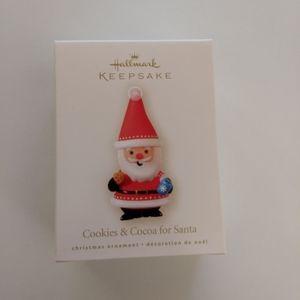 Hallmark Cookies and Cocoa for Santa